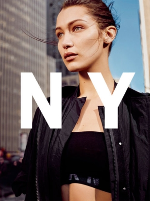 DKNY S/S 2017 : Bella Hadid by Collier Schorr