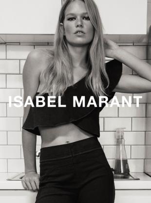 Isabel Marant S/S 2017 : Anna Ewers by Inez van Lamsweerde & Vinoodh Matadin