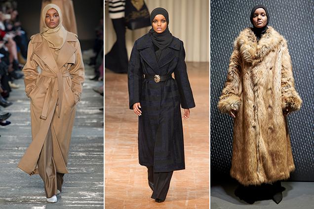 Halima Aden is hitting the Fall 2017 runways hard.