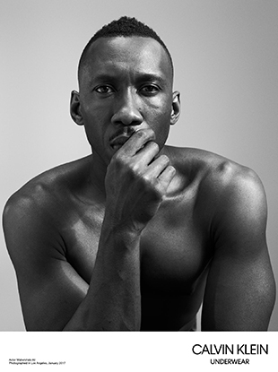 Oscar winner Mahershala Ali for Calvin Klein Underwear.