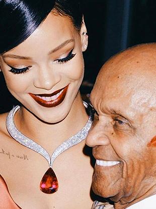Rihanna named Harvard's Humanitarian of the Year.