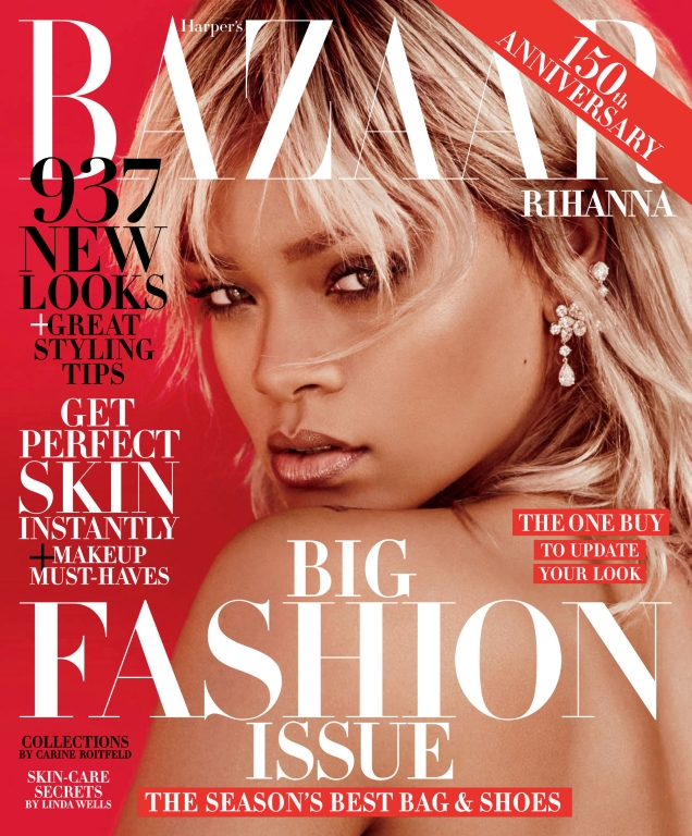 US Harper's Bazaar March 2017 : Rihanna by Mariano Vivanco