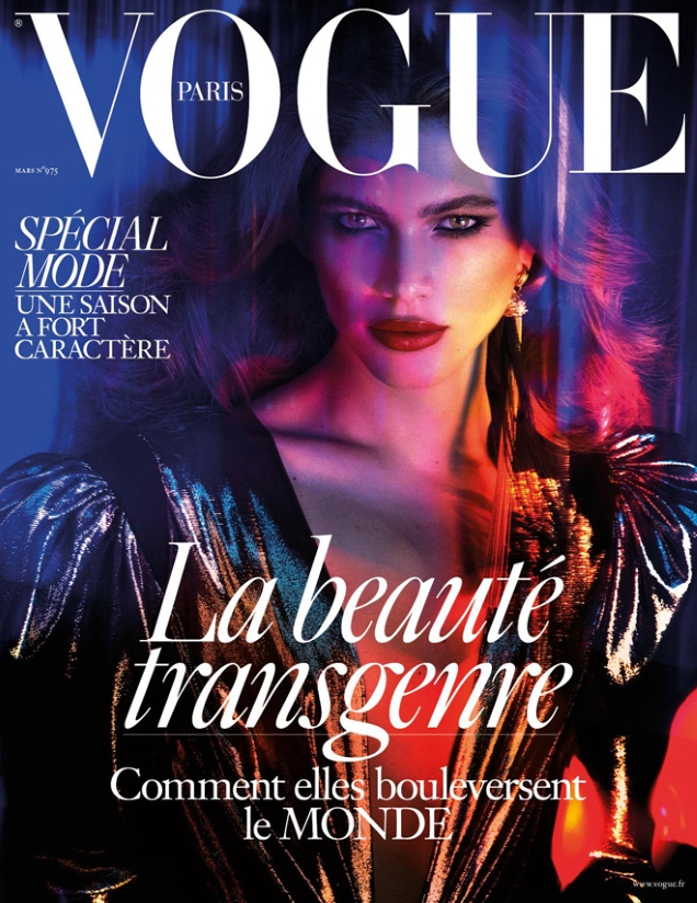Vogue Paris March 2017 : Valentina Sampaio by Mert Alas & Marcus Piggott