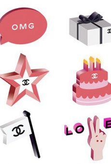 Fashion Girls Can Now Communicate in Chanel Emoji
