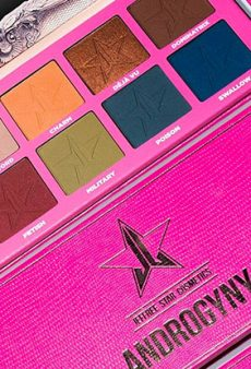 Jeffree Star's Androgynous Eyeshadow Palette Is Almost Here