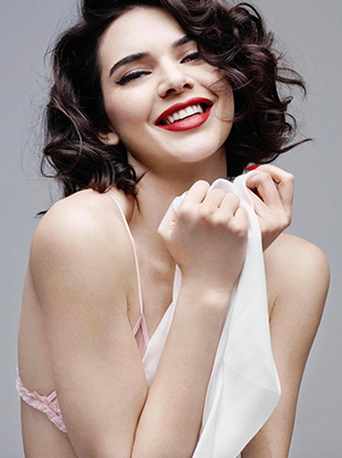 Kendall Jenner channels Marilyn Monroe for Love magazine.