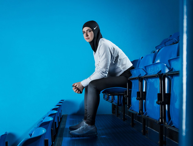 In the spring of 2018, Nike will release the Pro Hijab.