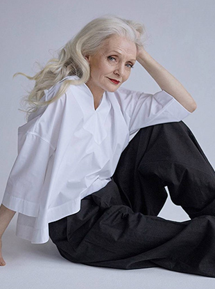 A year ago, former street style photographer Igor Gavar founded Oldushka, a Moscow-based modeling agency whose youngest female signee is 60 years old.