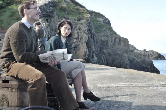 Sam Clafin and Gemma Arterton in Their Finest.