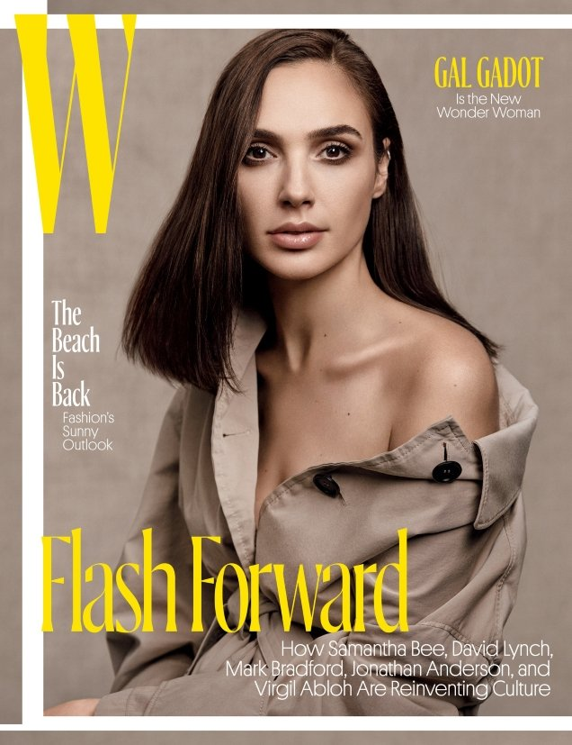 W May 2017 : Gal Gadot by Craig McDean