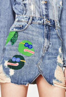 Oh, Good: Zara Removed That Offensive Pepe the Frog Skirt From Its Site