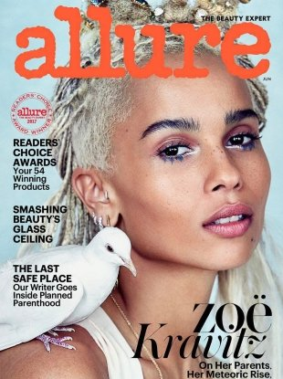 Allure June 2017 : Zoë Kravitz by Patrick Demarchelier