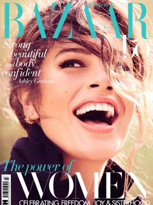 UK Harper's Bazaar July 2017 : Ashley Graham by Alexi Lubomirski