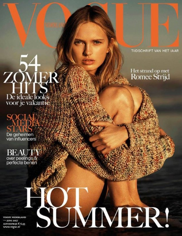 Vogue Netherlands June 2017 : Romee Strijd by Jan Welters