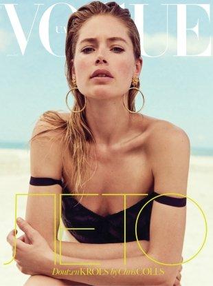Vogue Ukraine June 2017 : Doutzen Kroes by Chris Colls