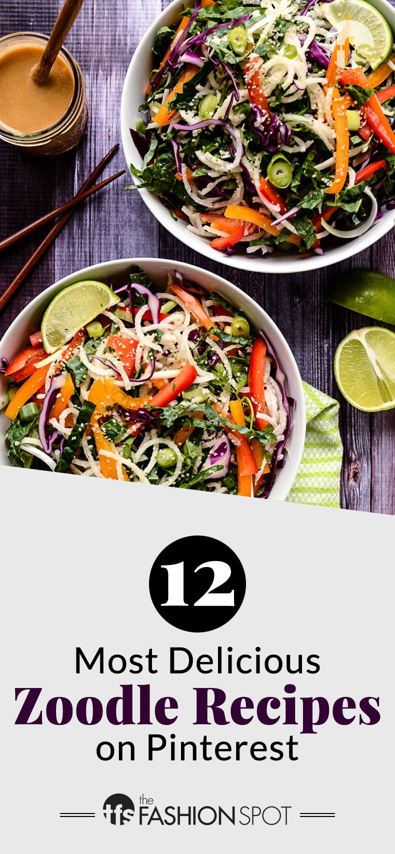 12 Seriously Delicious Zoodle Recipes From Pinterest