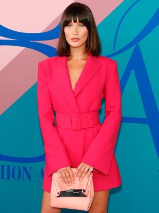 NEW YORK, NY - JUNE 05: Bella Hadid attends the 2017 CFDA Fashion Awards at Hammerstein Ballroom on June 5, 2017 in New York City. (Photo by Taylor Hill/FilmMagic)