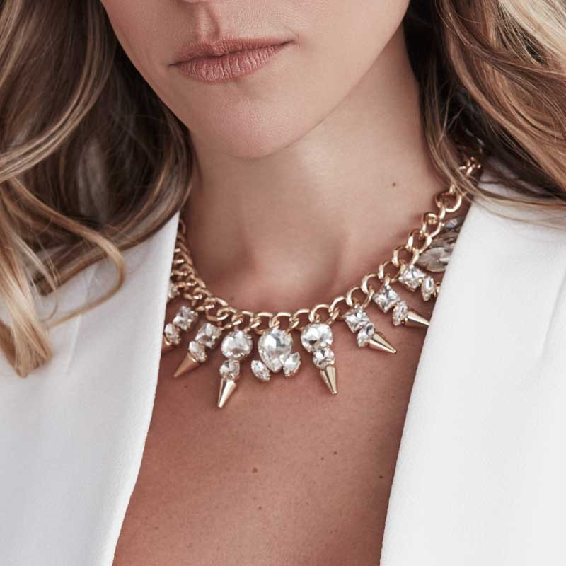 Kristin Cavallari wears her Uncommon James Glitz necklace