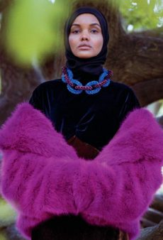 Hijab-Wearing Model Halima Aden Just Landed Her First American Vogue Feature
