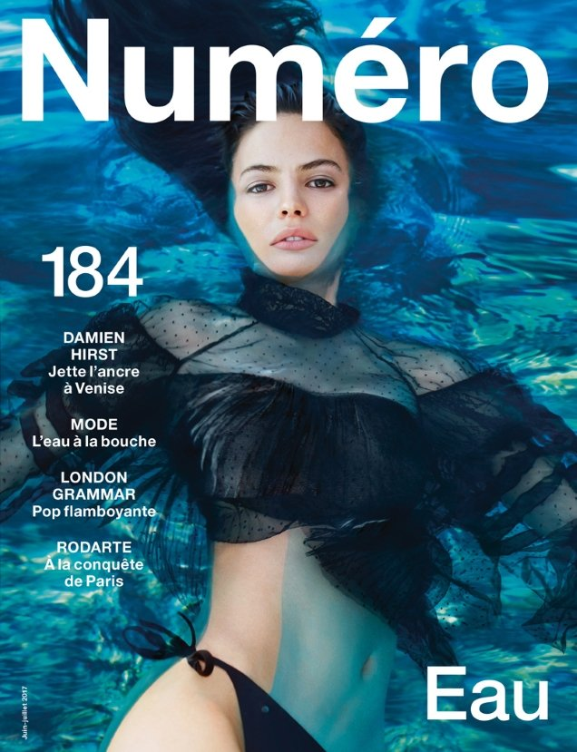 Numéro #184 June/July 2017 : Cameron Russell by Txema Yeste