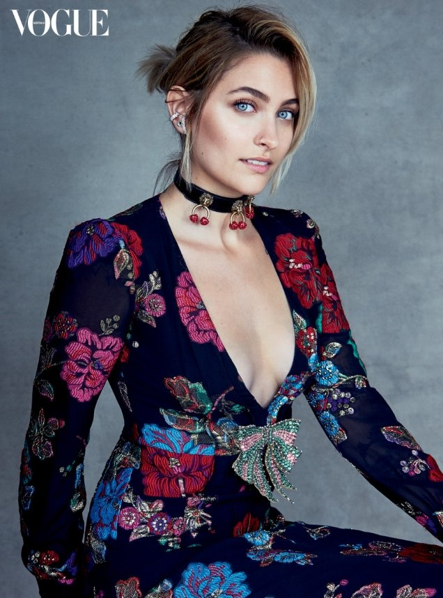 Vogue Australia July 2017 : Paris Jackson by Patrick Demarchelier