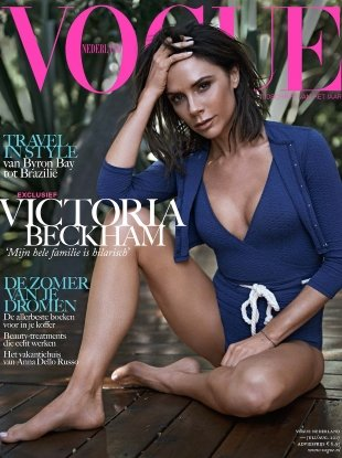 Vogue Netherlands July/August 2017 : Victoria Beckham by Jan Welters