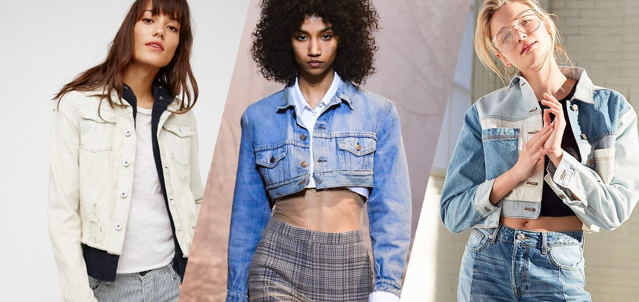 Shop Selena, Gigi and Bella's Midseason Staple: The Cropped Denim Jacket