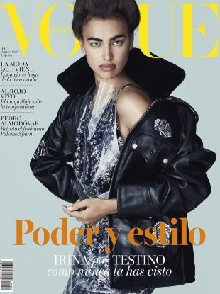 Vogue Espana August 2017 : Irina Shayk by Mario Testino
