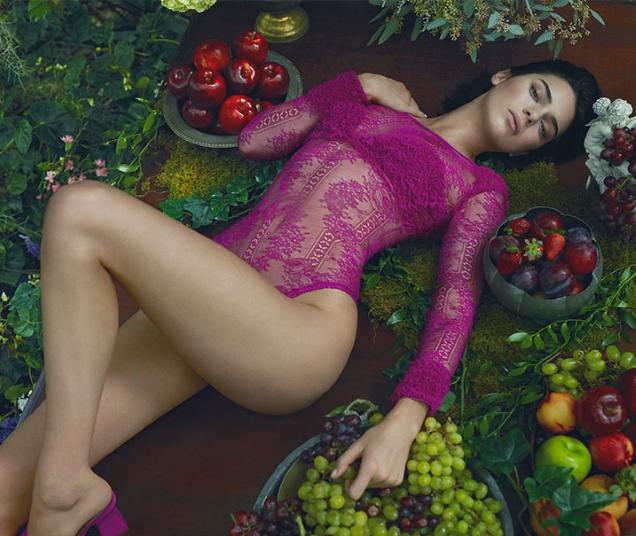 La Perla F/W 2017.18 : Kendall Jenner by Mert Alas & Marcus Piggott