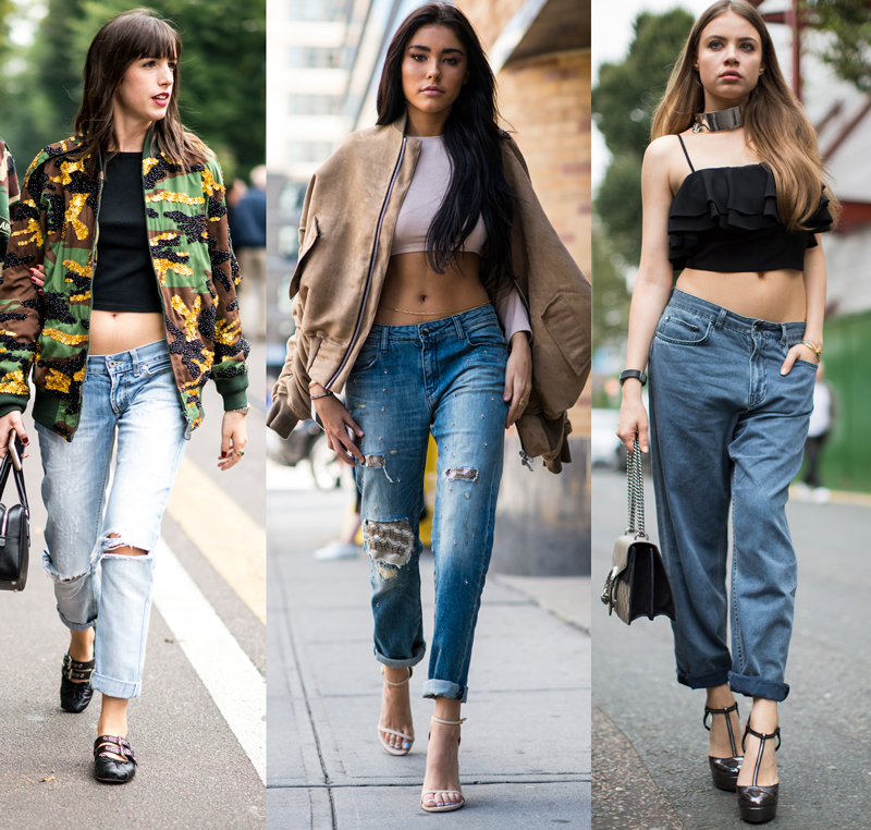 Street style proof that low-rise jeans are back