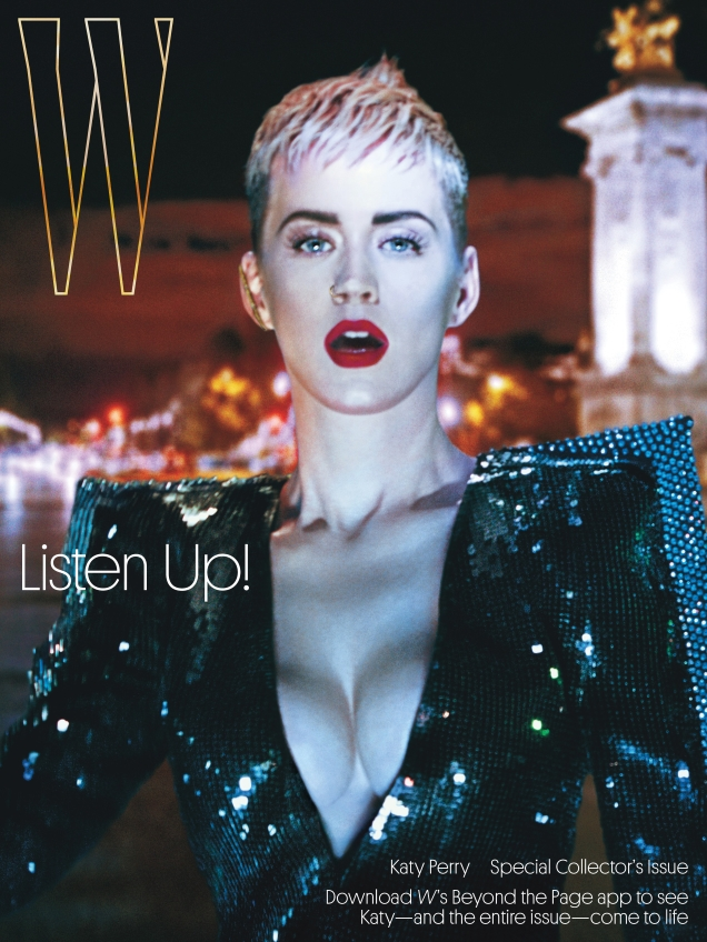 W Magazine September 2017 : Katy Perry by Steven Klein