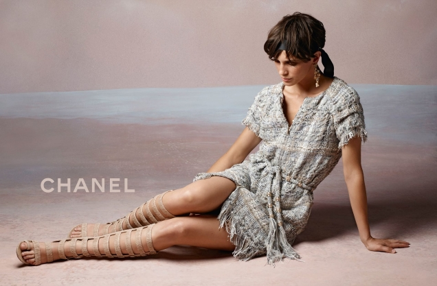 Chanel Cruise 2017.18 : Marine Vacth by Karl Lagerfeld
