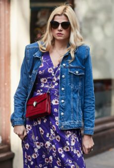 13 Jean Jacket Outfit Ideas for the In-Between Season