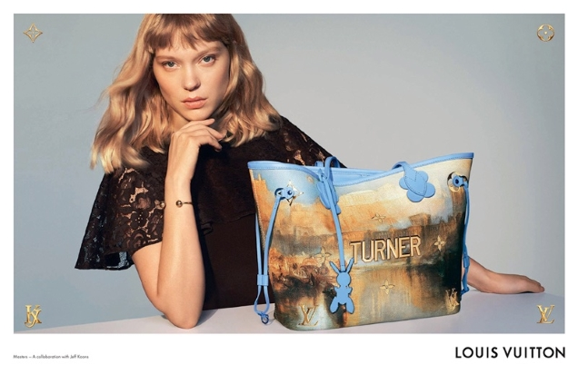 Louis Vuitton x Jeff Koons Handbags 2018 : Lea Seydoux