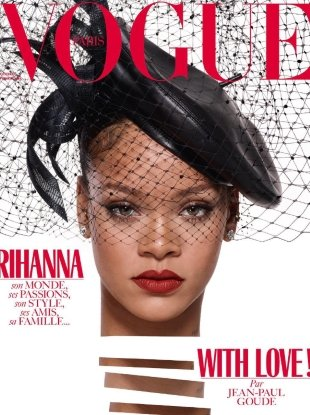 Vogue Paris December 2017/January 2018 : Rihanna