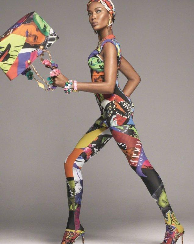 Versace S/S 2018 by Steven Meisel
