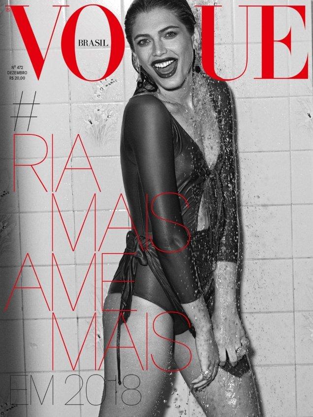 Vogue Brazil December 2017 : Valentina Sampaio by Gui Paganini