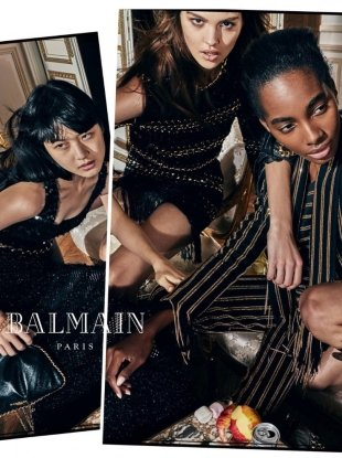 Balmain S/S 2018 by Olivier Rousteing