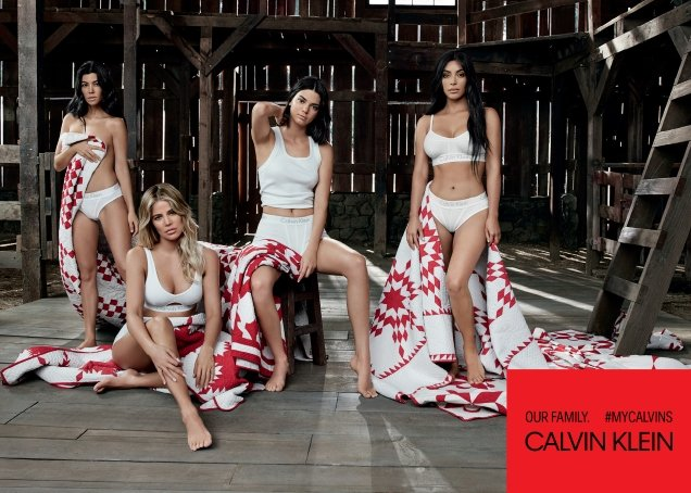 Calvin Klein #MyCalvins S/S 2018 : The Kardashian/Jenner Sisters by Willy Vanderperre
