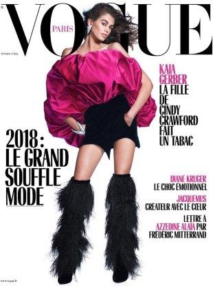 Vogue Paris February 2018 : Kaia Gerber by David Sims