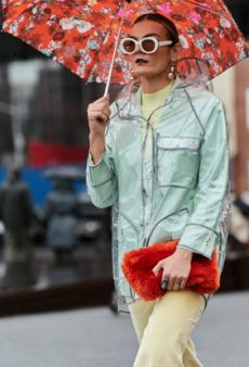 Here's How Fashion Editors and Influencers Dress for the Rain