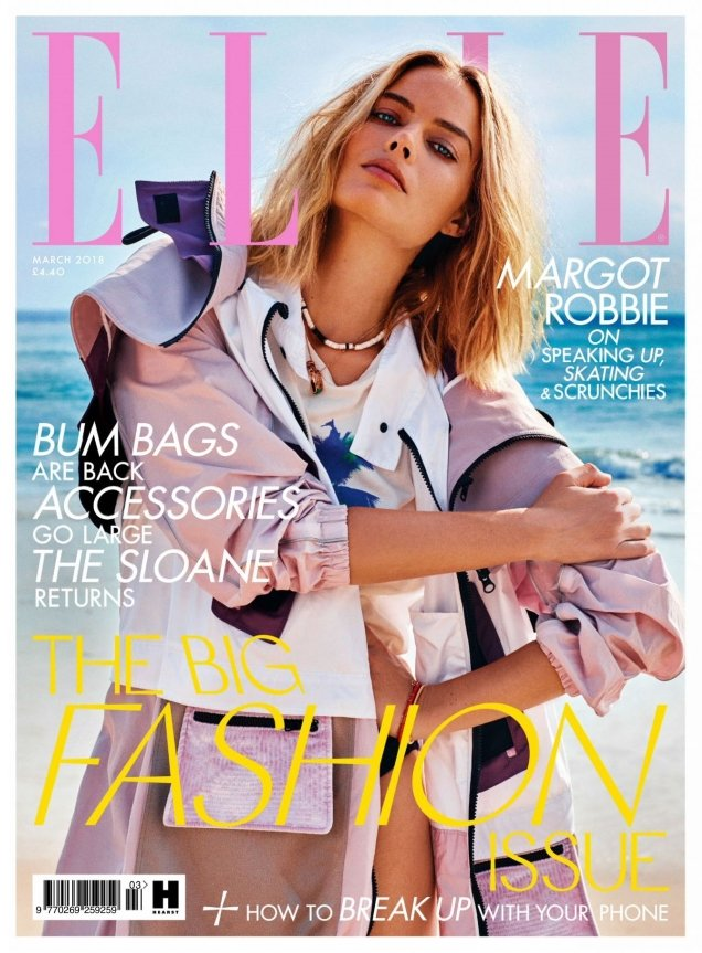 UK Elle March 2018 : Margot Robbie by Alexi Lubomirski