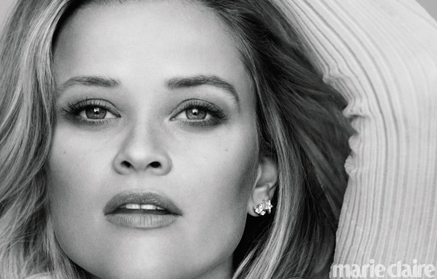 US Marie Claire March 2018 : Reese Witherspoon by Thomas Whiteside