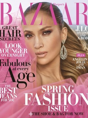 US Harper's Bazaar April 2018 : Jennifer Lopez by Mariano Vivanco