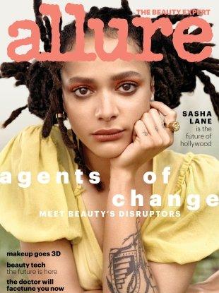 Allure May 2018 : Sasha Lane by Scott Trindle