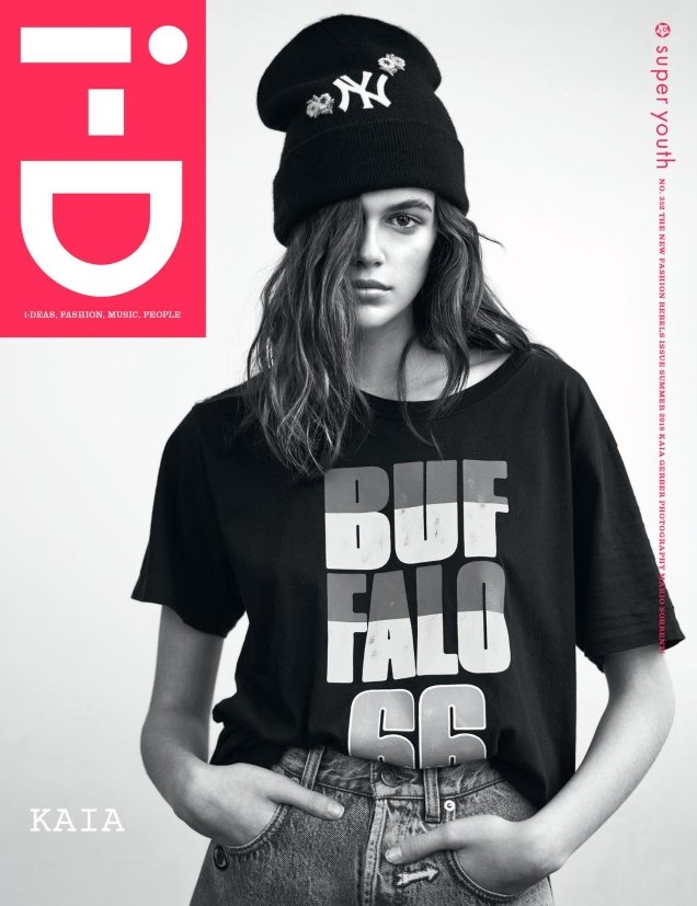 i-D Magazine Summer 2018 : Kaia Gerber by Mario Sorrenti