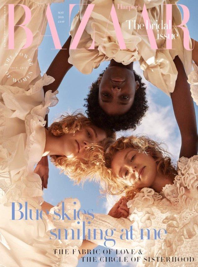 UK Harper's Bazaar May 2018 by Agata Pospieszynska