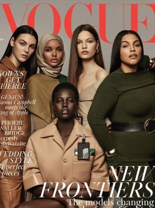 UK Vogue May 2018 : The New Frontiers by Craig McDean