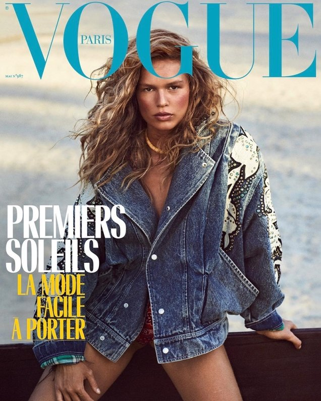 Vogue Paris May 2018 : Anna Ewers by Mikael Jansson