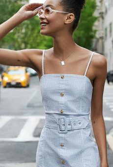 If You Buy One Dress This Summer, It Should Be Button-Front
